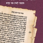 book cover with hebrew writing